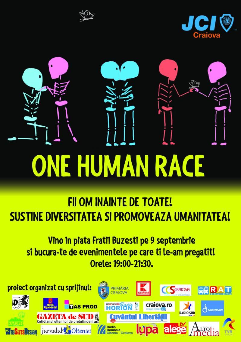 JCI Craiova-one human race