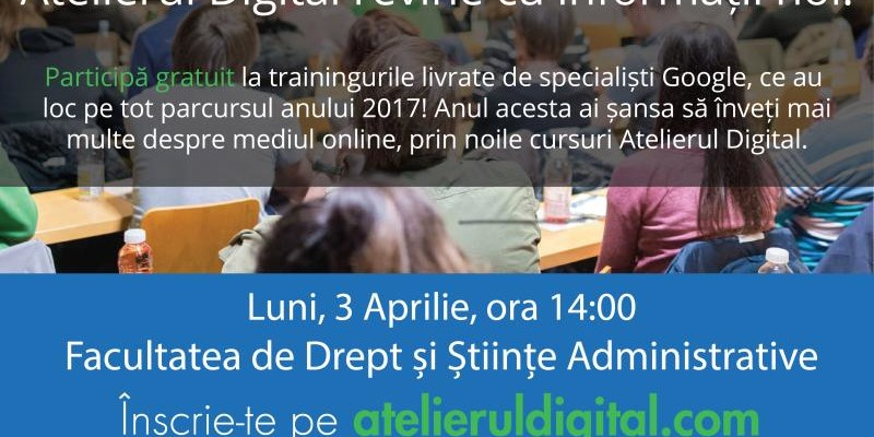 Atelierul Digital - Demonstrativ-Craiova-martie2017